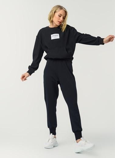 Fabrika Fabrika Düz Siyah Kadın Pantolon Siyah